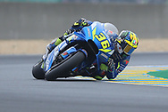 #36 Joan Mir, Spanish: Team Suzuki Ecstar during racing on the Bugatti Circuit at Le Mans, Le Mans, France on 19 May 2019.
