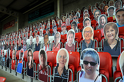General views inside the stadium - Mandatory by-line: Nizaam Jones/JMP - 21/11/2020 - FOOTBALL - Jonny-Rocks Stadium - Cheltenham, England - Cheltenham Town v Walsall - Sky Bet League Two