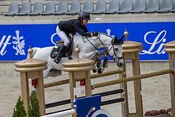 Kraut Laura, USA, Confu<br /> Aachen International Jumping<br /> Aachen 2020<br /> © Hippo Foto - Dirk Caremans<br /> 06/09/2020