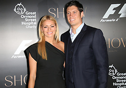 © Licensed to London News Pictures. 02/07/2014, UK. Tess Daly; Vernon Kay, F1 Party in aid of Great Ormond Street Hospital Children's Charity, Victoria and Albert Museum, London UK, 02 July 2014. Photo credit : Richard Goldschmidt/Piqtured/LNP