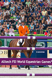 Jeroen Dubbeldam, (NED), Zenith SFN - World Champions, - Second Round Team Competition - Alltech FEI World Equestrian Games™ 2014 - Normandy, France.<br /> © Hippo Foto Team - Leanjo De Koster<br /> 25/06/14