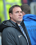 Malky Mackay manager of Wigan Athletic during the Sky Bet Championship match at the New York Stadium, Rotherham<br /> Picture by Graham Crowther/Focus Images Ltd +44 7763 140036<br /> 14/03/2015