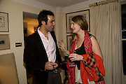 AATISH TASEER; PRINCESS MARIA THURN UND TAXIS. Aatish Taseer  book launch party for his new book Stranger To History. Travel book asks what it means to be a Muslim in the 21st century. Hosted by Gillon Aitken. Kensington, London. 30 March 2009
