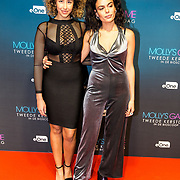 NLD/Amsterdam/20171212 - Première Molly's Game, Farrieda Smit (r)
