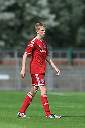 NEWPORT, WALES - Wednesday, August 3, 2016: South Wales Academy Boys' Cody Berry during the Welsh Football Trust Cymru Cup 2016 at Newport Stadium. (Pic by Ian Cook/Propaganda)