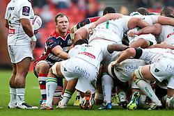 Nick Koster of Bristol Rugby - Rogan Thomson/JMP - 11/12/2016 - RUGBY UNION - Ashton Gate Stadium - Bristol, England - Bristol Rugby v Pau - European Rugby Challenge Cup.