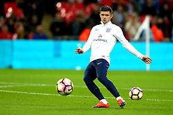 Aaron Cresswell of England warms up - Mandatory by-line: Robbie Stephenson/JMP - 15/11/2016 - FOOTBALL - Wembley Stadium - London, United Kingdom - England v Spain - International Friendly