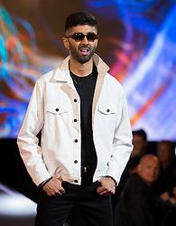 BBUK: Hussain Ahmed, New Housemate enters the Big Brother House at Elstree Studios, Borehamwood, 5 October 2018.<br /><br />5 October 2018.<br /><br />Please byline: Vantagenews.com