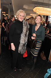 Left to right, KITTY ARDEN and COUNTESS MAYA DI ROBILANT at a ladies lunch in support of Maggie's Barts hosted by Judy Naake, Clara Weatherall and Caroline Collins at Le Cafe Anglais, 8 Porchester Gardens, London W2 on 19th March 2013.