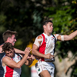 BRISBANE, AUSTRALIA - JULY 15:  during the QAFL Round 12 match between Western Magpies and Morningside Panthers at Western Magpies AFC on July 15, 2017 in Brisbane, Australia. (Photo by Patrick Kearney/Patrick Leigh Perspectives)