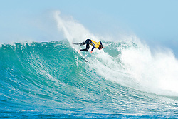 Current No.1 on the Jeep Leaderboard Matt Wilkinson of Australia advances to Round Four of the Corona Open J-Bay after defeating Jack Freestone of Australia in Heat 12 of Round Three in pumping overhead conditions at Supertubes, Jeffreys Bay, South Africa.