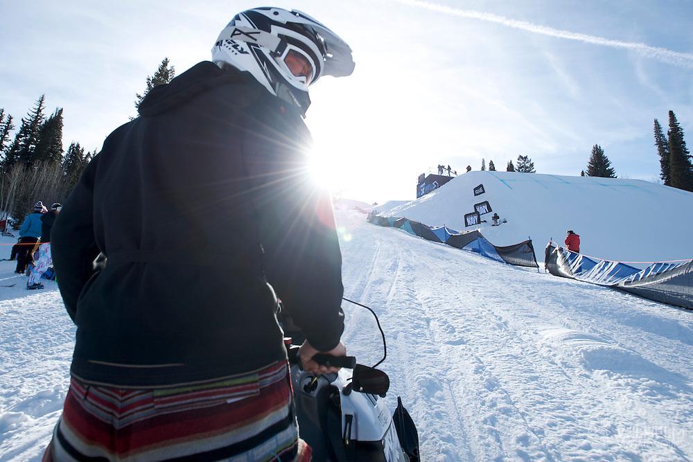 30 JAN 2010: Action from Winter X Games 14 in Aspen, CO. ©Brett Wilhelm