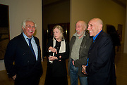 Tony Shafrazi; Richard Hamilton; Rita Donagh; Brian Clarke. Francis Bacon opening private view and dinner. Tate Britain. 8 September 2008 *** Local Caption *** -DO NOT ARCHIVE-© Copyright Photograph by Dafydd Jones. 248 Clapham Rd. London SW9 0PZ. Tel 0207 820 0771. www.dafjones.com.