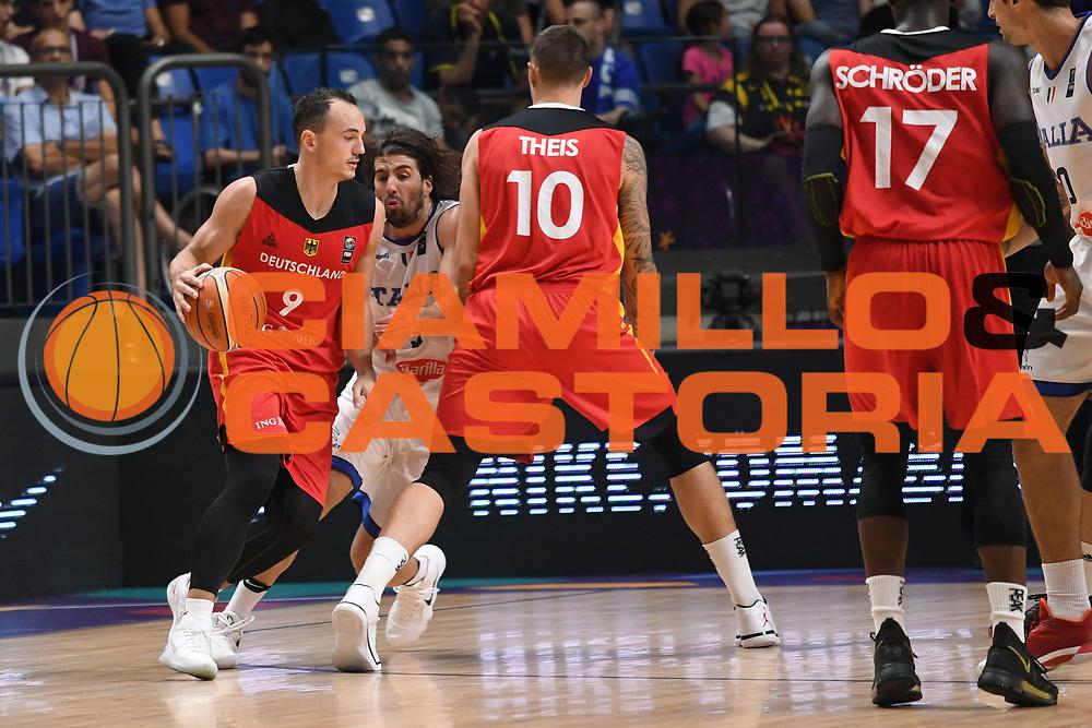 Karsten Gadda<br /> Nazionale Italiana Maschile Senior<br /> Eurobasket 2017 - Group Phase<br /> Italia Germania Italy Germany<br /> FIP 2017<br /> Tel Aviv, 05/09/2017<br /> Foto M.Ceretti / Ciamillo - Castoria