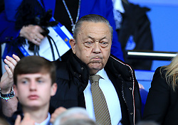 West Ham United's co owner David Sullivan in the stands during the Premier League match at Goodison Park, Liverpool.