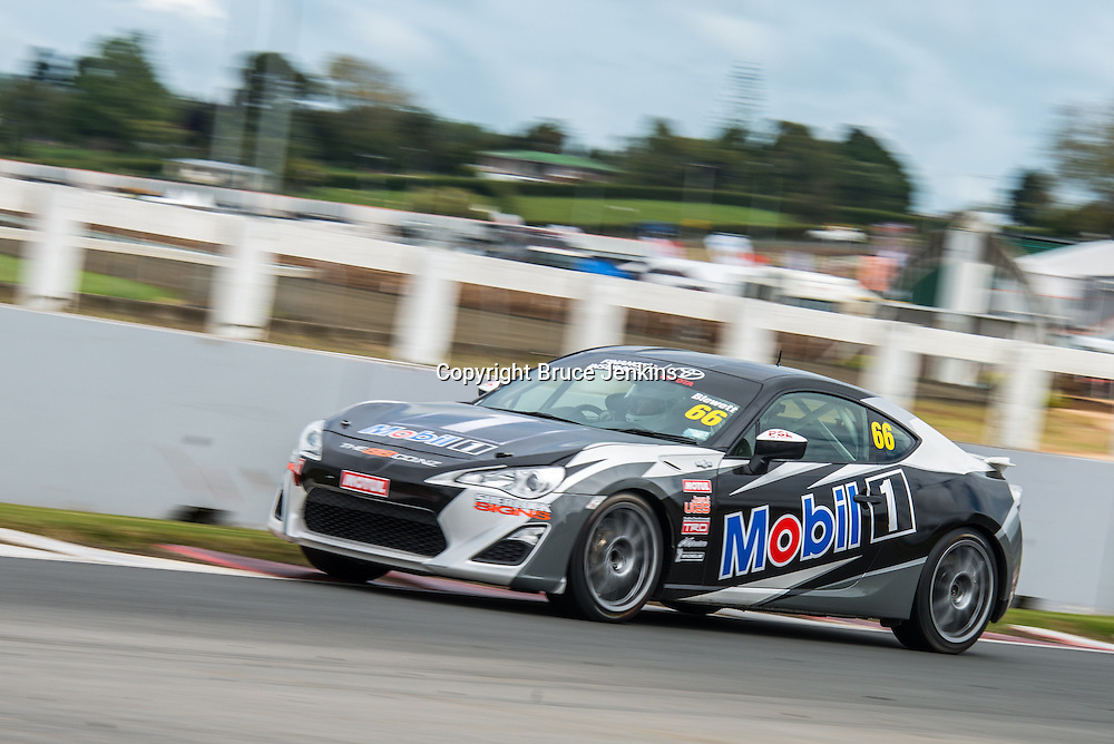 Ashley Blewett at Round 2 of the Toyota Finance 86 Series at Pukekohe, New Zealand, 2014. Photo by Bruce Jenkins Photography / www.brucejenkins.co.nz