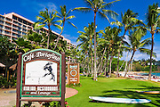 Cafe Portofino Restaurant at the Kauai Marriott Resort, Island of Kauai, Hawaii