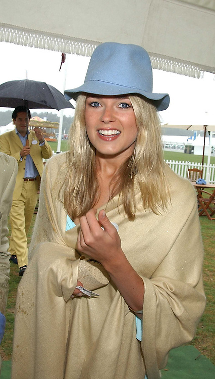 ISABELLA ANSTRUTHER-GOUGH-CALTHORPE at the 2005 Cartier International Polo between England & Australia held at Guards Polo Club, Smith's Lawn, Windsor Great Park, Berkshire on 24th July 2005.<br /><br />NON EXCLUSIVE - WORLD RIGHTS