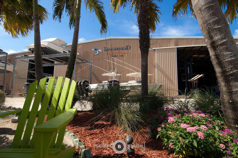 Loggerhead Marina located in Jonathan's Landing, Jupiter, Florida.