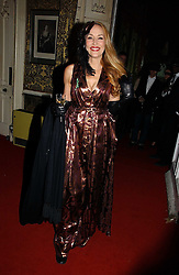 JERRY HALL at the 2006 Moet & Chandon Fashion Tribute in honour of photographer Nick Knight, held at Strawberry Hill House, Twickenham, Middlesex on 24th October 2006.<br /><br />NON EXCLUSIVE - WORLD RIGHTS