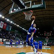 Anadolu Efes's Dogus Balbay during their Turkish Basketball League match Darussafaka Dogus between Anadolu Efes at Ayhan Sahenk Arena in Istanbul Turkey on Monday 11 January 2016. Photo by Aykut AKICI/TURKPIX