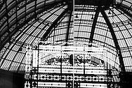 France. Paris 8th. Grand Palais; Metal architecture