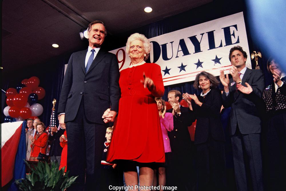 The Bush 41 concession event on November 3, 1992<br />Photo by Dennis Brack
