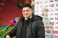 Football - 2020 / 2021 Sky Bet Championship - Watford vs Derby County - Vicarage Road<br /> <br /> Xisco Munoz - Watford  Manager / Head coach smiles after winning the match<br /> <br /> Credit : COLORSPORT/ANDREW COWIE