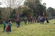 Battle of Hastings re-enactment. Battle, East Sussex, 13 October 2018