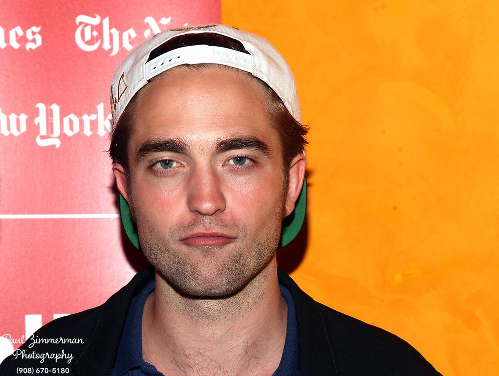 NEW YORK, NY - AUGUST 15:  Actor Robert Pattinson attends TimesTalks Presents: David Cronenberg and Robert Pattinson at TheTimesCenter on August 15, 2012 in New York City.  (Photo by Paul Zimmerman/WireImage)