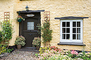 Quaint typically English cottage at Exmoor in Somerset, United Kingdom