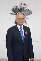 @Licensed to London News Pictures 05/11/2014.Margate, Kent, UK. Culture Secretary Sajid Javid visits Turner Contemporary in Margate to highlight how the National Lottery money has benefited local communities across the UK and to mark the 20th anniversary of the first draw later this month (November 2014). Photo credit: Manu Palomeque/LNP