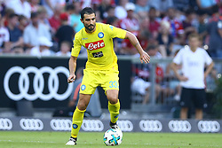 August 1, 2017 - Munich, Germany - Raul Albiol of Napoli during the first Audi Cup football match between Atletico Madrid and SSC Napoli in the stadium in Munich, southern Germany, on August 1, 2017. (Credit Image: © Matteo Ciambelli/NurPhoto via ZUMA Press)
