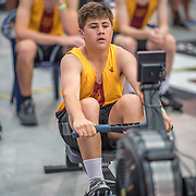 Cullan Fuller MALE HEAVYWEIGHT U15 1K Race #11  11:45am <br /> <br /> <br /> www.rowingcelebration.com Competing on Concept 2 ergometers at the 2018 NZ Indoor Rowing Championships. Avanti Drome, Cambridge,  Saturday 24 November 2018 © Copyright photo Steve McArthur / @RowingCelebration