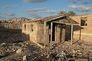 Abandoned home after Hurricane Jeanne in 2004. Gonaïves, Haiti. January 22, 2008.