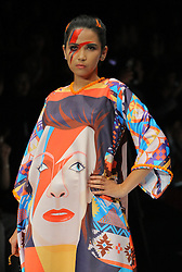 October 23, 2016 - Jakarta, Jakarta, Indonesia - Grazia Indonesia presents Tribute to Legends by Tities Sapoetra designer whose work is inspired by the World Musician David Bowie in Jakarta Fashion Week 2017 (Credit Image: © Denny Pohan via ZUMA Wire)