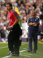 Photo: Frances Leader.<br />Fulham v West Ham. The Barlcays Premiership.<br />17/09/2005.<br />Fulham's manager Chris Coleman.