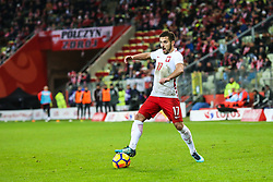 November 13, 2017 - Gdansk, Poland - Maciej Makuszewski (POL) during the International Friendly match between Poland and Mexico at Energa Stadium in Gdansk, Poland on November 13, 2017. (Credit Image: © Foto Olimpik/NurPhoto via ZUMA Press)