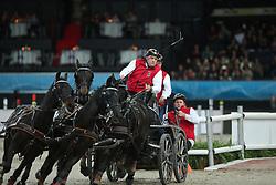 Stein, Georg von (GER), <br /> Stuttgart - German Masters 2015<br /> Fahren Weltcup<br /> www.sportfotos-lafrentz.de