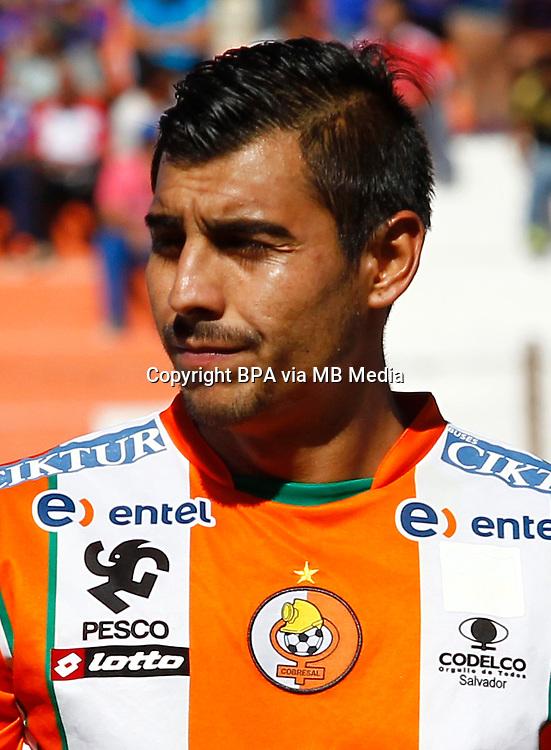 Chile Football League First Division - <br /> Scotiabank Tournament 2016 - <br /> ( Club de Deportes Cobresal ) - <br /> Carlos Alfredo Oyaneder Petorca