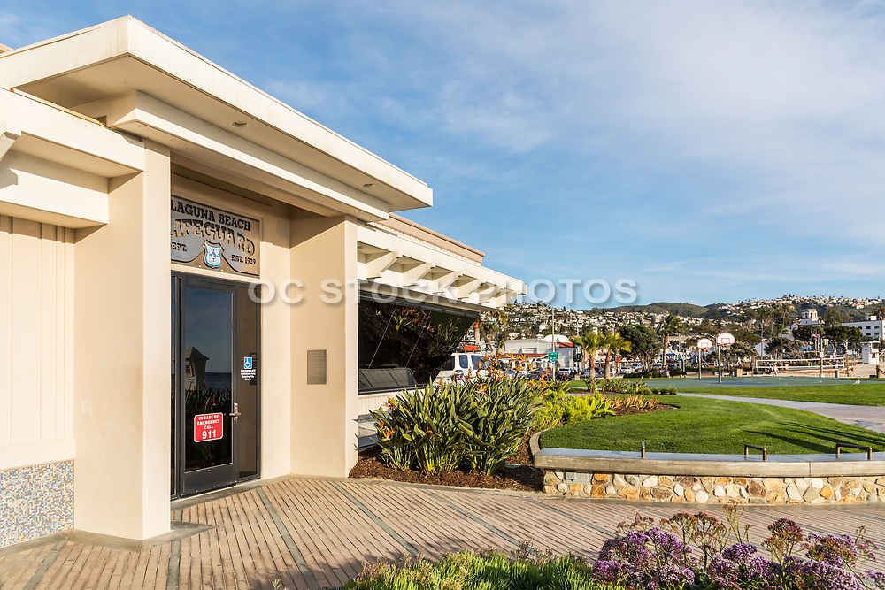 Laguna Beach Lifeguard Headquarters at Main Beach