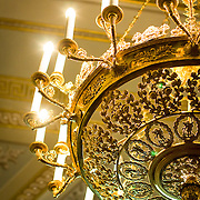 Chandelier in Room 285 (St Petersburg, Russian Federation - Aug. 2008) (Image ID: 080812-1214091a)