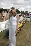 Cosima Pavoncelli, Veuve Clicquot Gold Cup 2006. Final day. 23 July 2006. ONE TIME USE ONLY - DO NOT ARCHIVE  © Copyright Photograph by Dafydd Jones 66 Stockwell Park Rd. London SW9 0DA Tel 020 7733 0108 www.dafjones.com