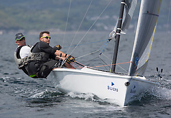 Day three of the Silvers Marine Scottish Series 2016, the largest sailing event in Scotland organised by the  Clyde Cruising Club<br /> Racing on Loch Fyne from 27th-30th May 2016<br /> <br /> USA208, Ovington Boats, Brian Bennett, Sarasota SailSquadron<br /> <br /> Credit : Marc Turner / CCC<br /> For further information contact<br /> Iain Hurrel<br /> Mobile : 07766 116451<br /> Email : info@marine.blast.com<br /> <br /> For a full list of Silvers Marine Scottish Series sponsors visit http://www.clyde.org/scottish-series/sponsors/