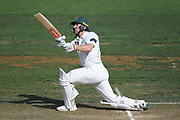 Central Districts Dane Cleaver hits a six in day 2 of the Plunket Shield Cricket match, Central Districts v Northern Districts, McLean Park, Napier, Monday, February 24, 2020. Copyright photo: Kerry Marshall / www.photosport.nz
