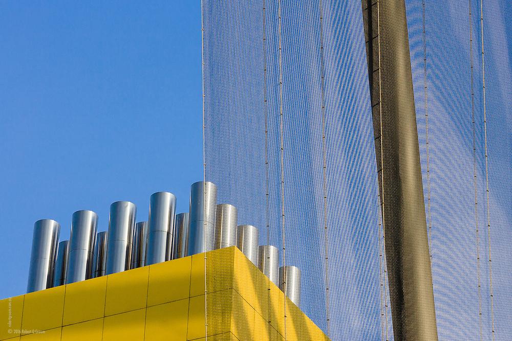 Melbourne Museum exterior views