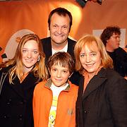 Uitreiking Kids Choice Awards 2004, Quinten Schram en ouders
