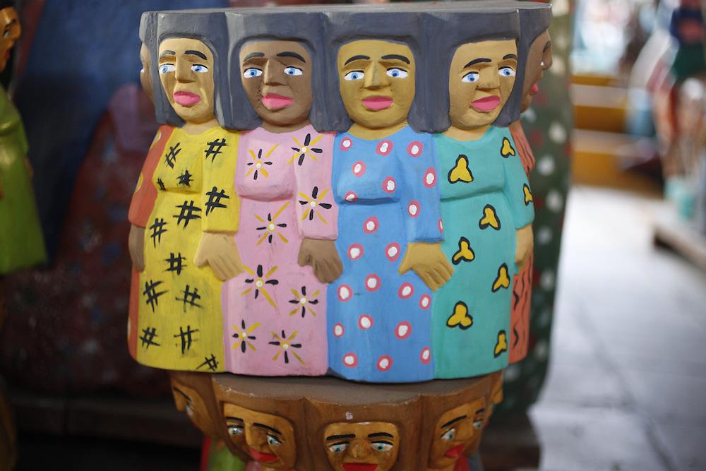 Juazeiro do Norte_CE, Brasil.<br /> <br /> Artesanato tipico da regiao do Vale do Cariri em Juazeiro do Norte, Ceara.<br /> <br /> Typical craft in Vale do Cariri in Juazeiro do Norte, Ceara.<br /> <br /> Foto: LEO DRUMOND / NITRO