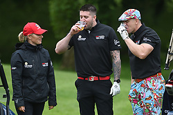 Zara Tindall and Mike Tindall (right) during the ISPS Handa Celebrity Golf Classic at The Belfry in Sutton Coldfield.