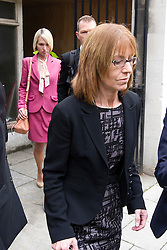 © London News Pictures. 02/05/2012. London, UK. Ceri Subbe, Gareth Williams sister (left) and EllenWilliams, Gareth Williams Mother (Right)  leaving Westminster Coroner's Court in London on May 2, 2012 on the final day of an inquest in to the death of British codebreaker Gareth Williams, who was found in a padlocked holdall bag in an empty bath in his Pimlico flat. The  coroner gave a narrative verdict ruling that Williams was unlawfully killed by a third party 'on the balance of probabilities'. Photo credit : Ben Cawthra /LNP
